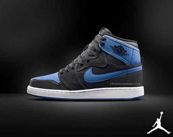 Air Jordan 1 KO – Black Royal