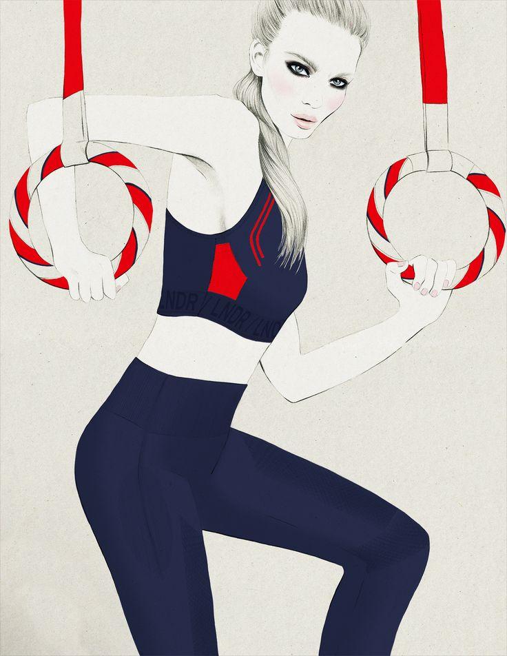 Kelly Thompson fashion illustration blog