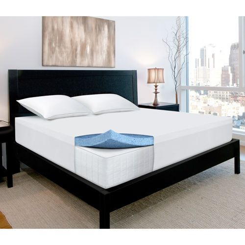 Novaform 3 Gel Memory Foam Mattress Topper Disarray Away Pinterest Foam Mattress