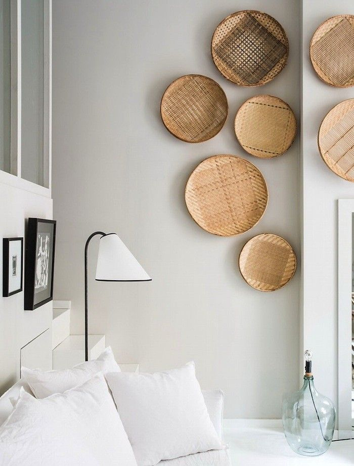 A great way to display the bila-o!!!! Maison Hand Baskets on the Wall | Remodelista