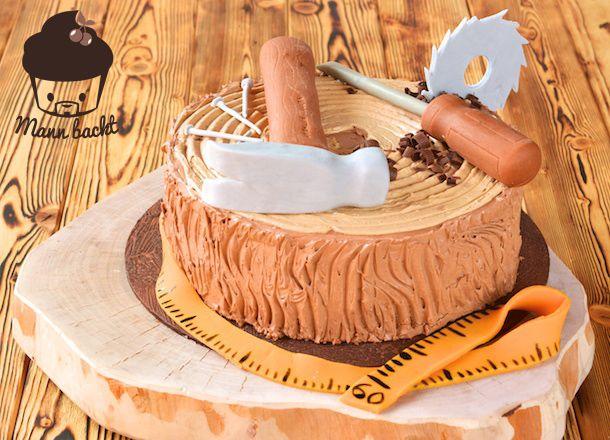 Motivtorte für Tischler und Holzliebhaber