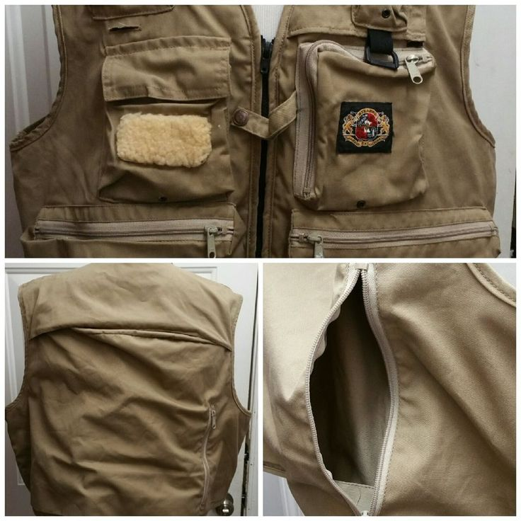 """Vintage Stearns """"Anglers Vest"""" Inflatable Sports And Life Sz 2XL Made in USA #Stearns"""