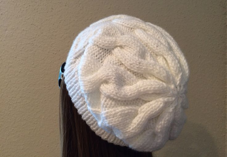 How To Knit A Cable Hat - Quick & Easy - YouTube