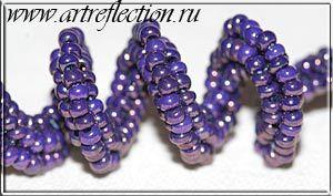 * instructions for herringbone twist #seed #bead #tutorial