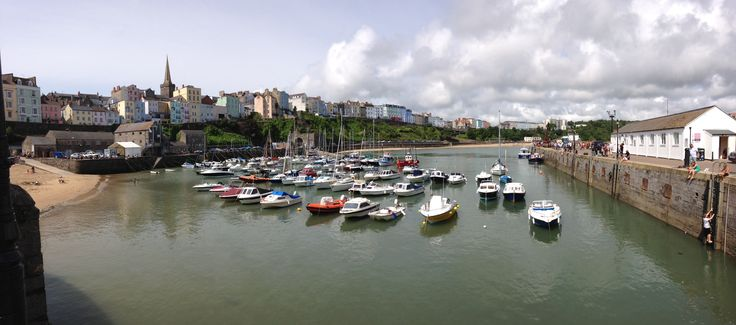 Tenby Harbour August 2014