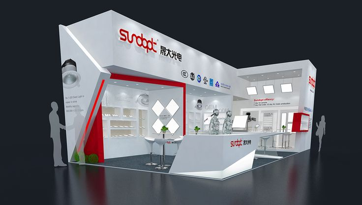 Exhibition Stall On Behance : Sundopt on behance a 展台 pinterest more and
