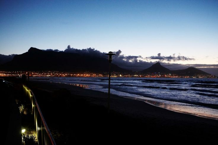 View of Table Mountain from Lagoon Beach Hotel and Spa