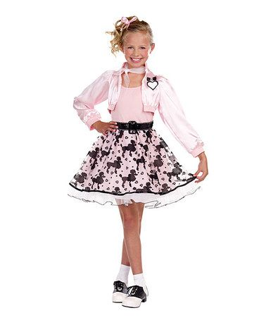 take a look at this pink pretty poodle dress up set girls by sugar halloween costumes - Halloween Costume Pink Dress