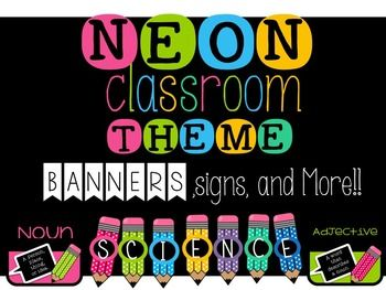 25 best ideas about Neon Classroom Decor on Pinterest #0: c4f cad54ddbec2d28b0aff25c7b