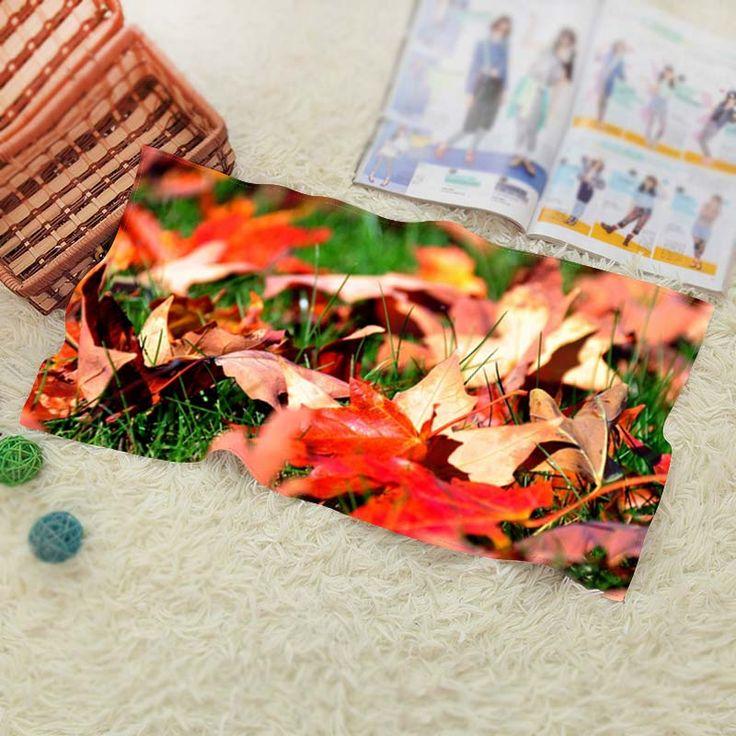 Maple Leaves  Travel Swim Spa Beach Towel for Kids Adults Baby Batoom Textile 70*140