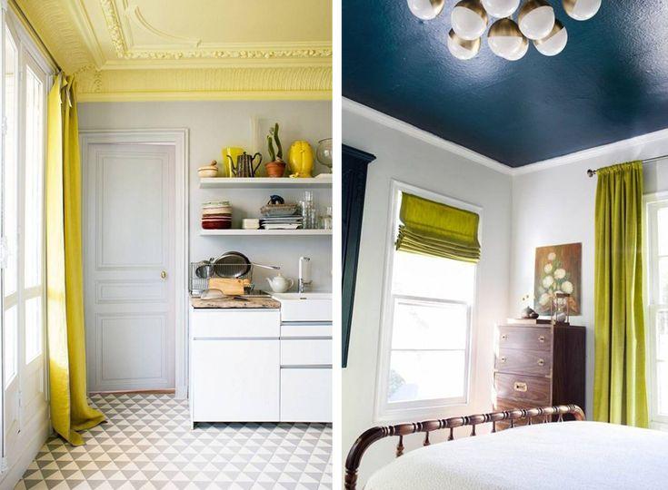 Ecco qualche idea originale per farsi ispirare e scegliere tra le nuove tendenze per la decorazione dei soffitti della casa