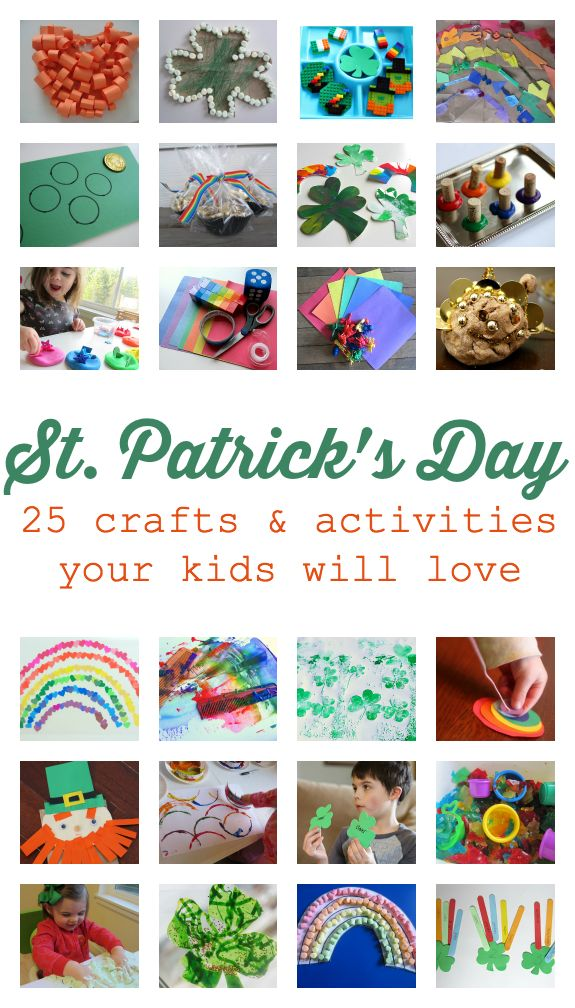 Easy St.Patrick's Day Crafts for Kids