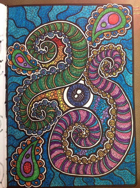 The Mind's eye #doodles #details