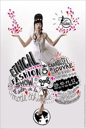 Ethical Fashion Show® du 9 au 12 octobre 2008 au Carrousel du Louvre, Paris