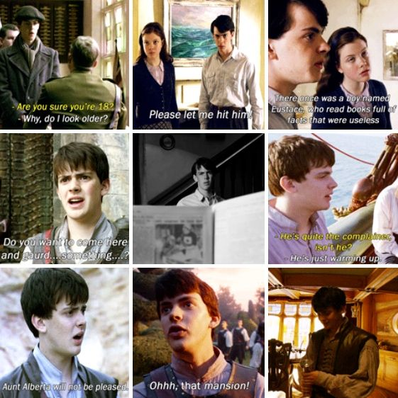 The Chronicles Of Narnia: The Voyage of the Dawn Treader. Edmund lines