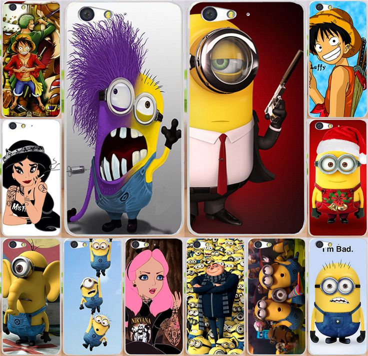 Cartoon Despicable Me Minions Piece moblie Phone Cases For  ZTE Blade V6 D6 X7 Phone Case Cover Blade D6 Blade X7 Case capa #Affiliate