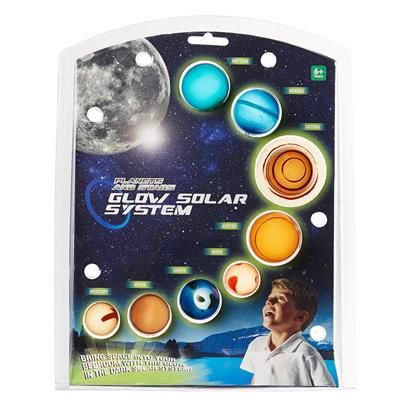 Image for Glow in the Dark Solar System from Kmart