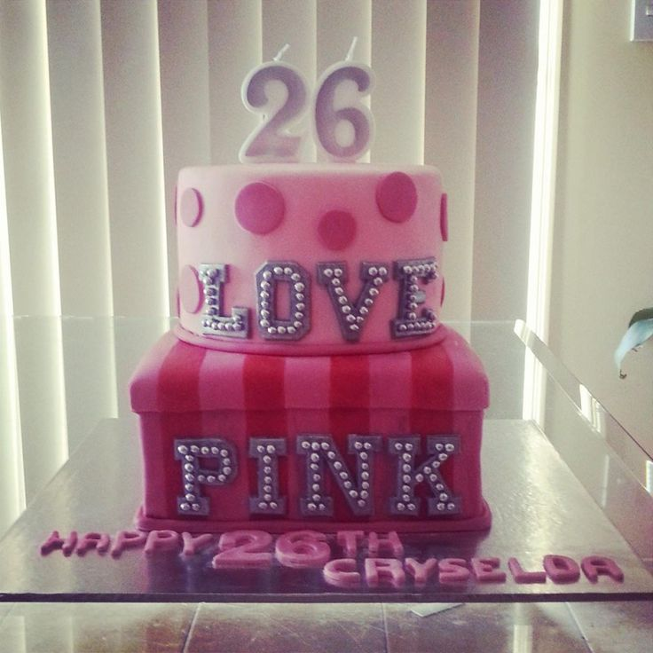 victoria secret pink cake - Google Search