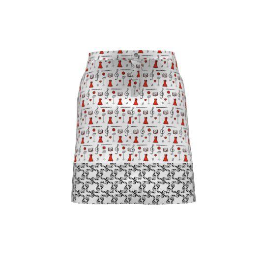 Moss Skirt   #SAGE - Maaike & Anne's Musical Skirt   Sprout Patterns
