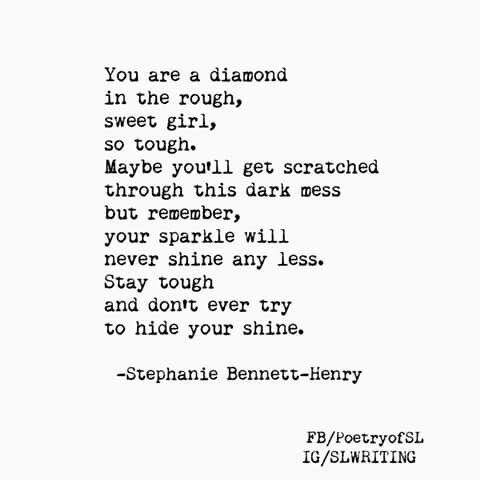 diamond in the rough poem - photo #9