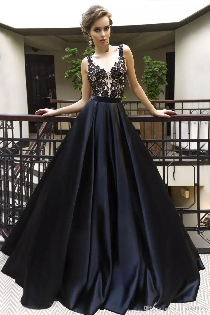 Black Prom Dress 2018,Prom Dresses,Evening Gown, Graduation Party Dresses, Prom Dresses For Teens from BBTrending
