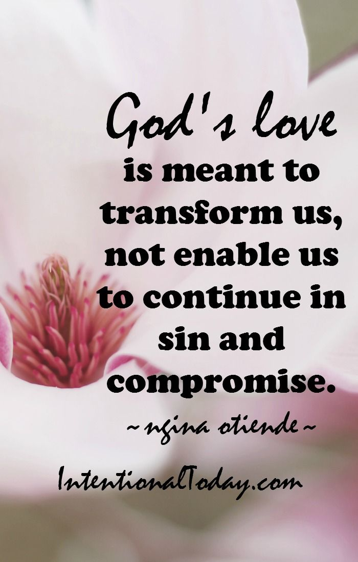Never takes God's love for granted. Tips on how to honor God in your relationship