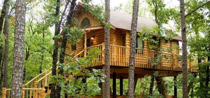 4. Tree House Cottages (Eureka Springs)