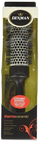 Ceramic-Hair-Brush-Round-Thermoceramic-Denman-Hot-Curl-Curling-Drying-Heated-New