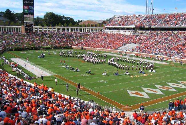 college football stadiums | Scott Stadium | Home of the Virginia Cavaliers Football Team