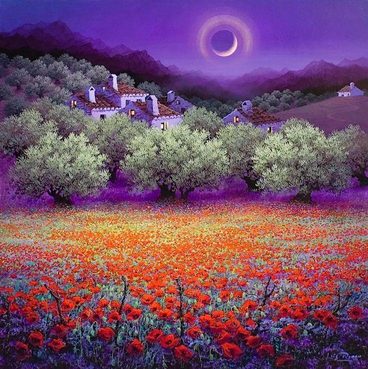 Художник Luis Romero Художник Luis Romero родился в Ронде, Малага, Испания.