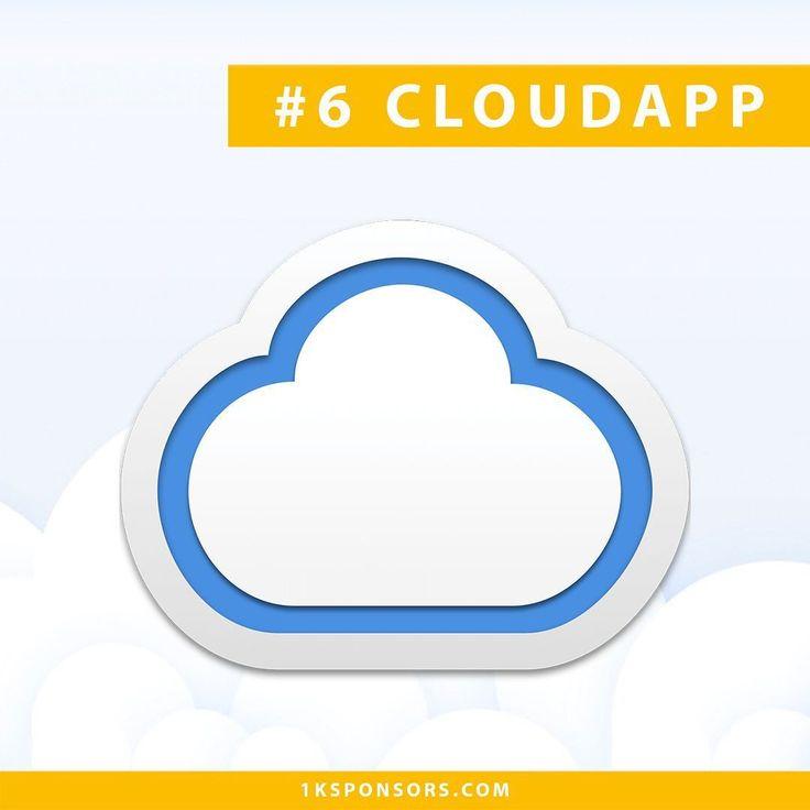 Sponsor #6  CloudApp | Herramienta que te permitirá comunicarte de manera #eficiente creando capturas de pantalla gifs o videos que se subirán a los servidores de CloudApp automáticamente para que puedas compartir la información rápidamente. [https://enfoquenomada.com/cloudapp/]