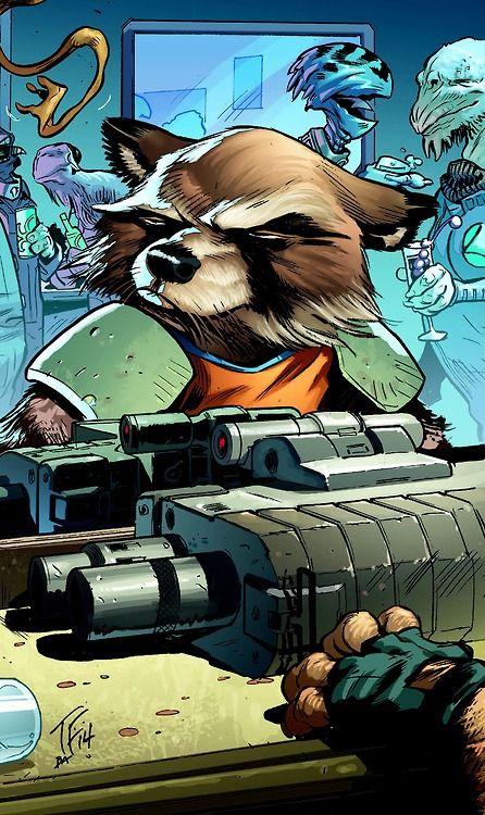 Rocket Raccoon ... Guardians of the Galaxy °°
