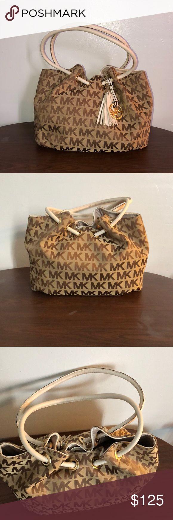 Michael kors purse Cute MK bag. I'm very good condition. 15 inches long. 10 inches tall. MICHAEL Michael Kors Bags Satchels