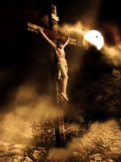 Jesus on the Cross... i think we all need to remember this day and what JESUS went through thousands of years ago today suffering on the cross. And also this Sunday when he rose from the dead.