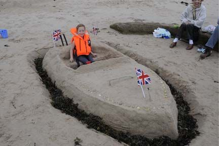 sandcastle craft for kids - Bing Images
