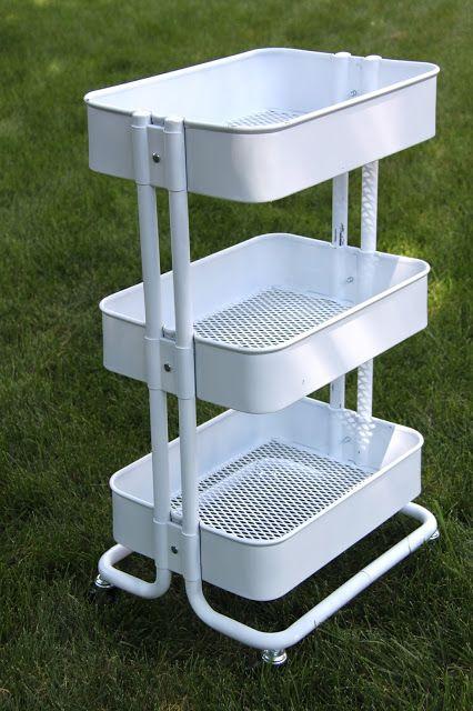 Superb TUTORIAL: Ikea Raskog Kitchen Cart Makeover
