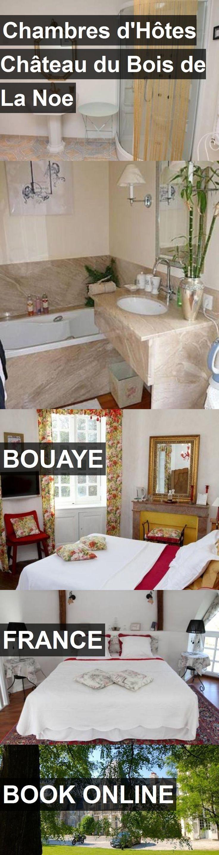 Hotel Chambres d'Hôtes Château du Bois de La Noe in Bouaye, France. For more information, photos, reviews and best prices please follow the link. #France #Bouaye #travel #vacation #hotel