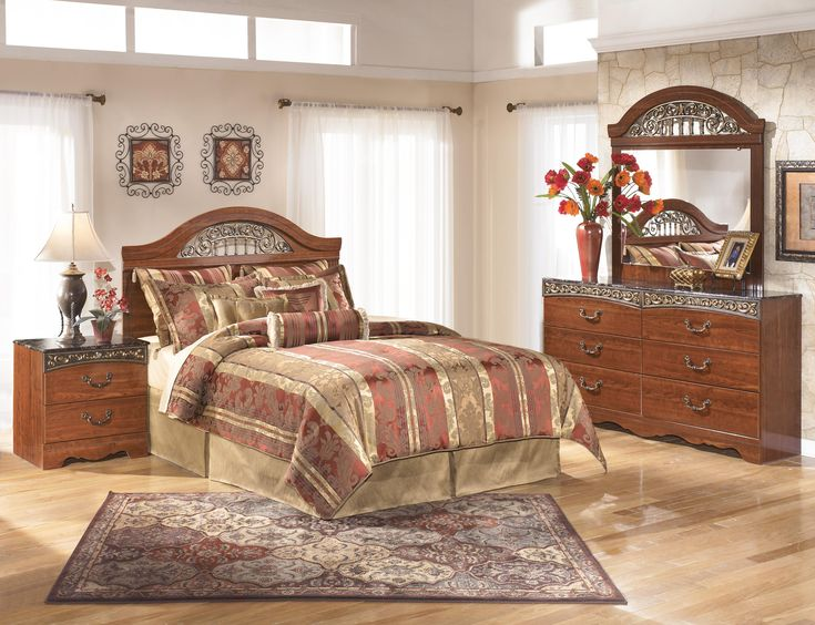 Shop For The Signature Design By Ashley Fairbrooks Estate Queen Bedroom  Group At Furniture Mart Colorado   Your Denver, Northern Colorado, Fort  Morgan, ...