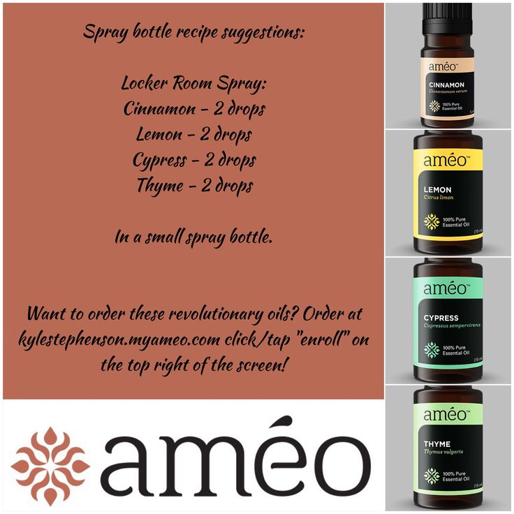 Ameo Essential Oils Spray Bottle Recipes This One Is The