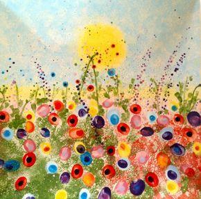 33 Fingerabdruck Bilder, welche Malen zu einem Erlebnis machen – Pamela Gethmann