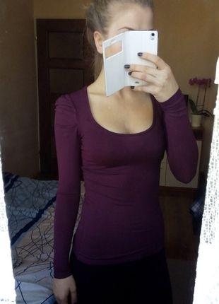 Kup mój przedmiot na #vintedpl http://www.vinted.pl/damska-odziez/bluzki-z-dlugimi-rekawami/11118192-bluzka-z-dlugim-rekawem-camaieu-bordowa