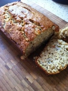 Banana Oatmeal Bread...in my oven right now!! ;)