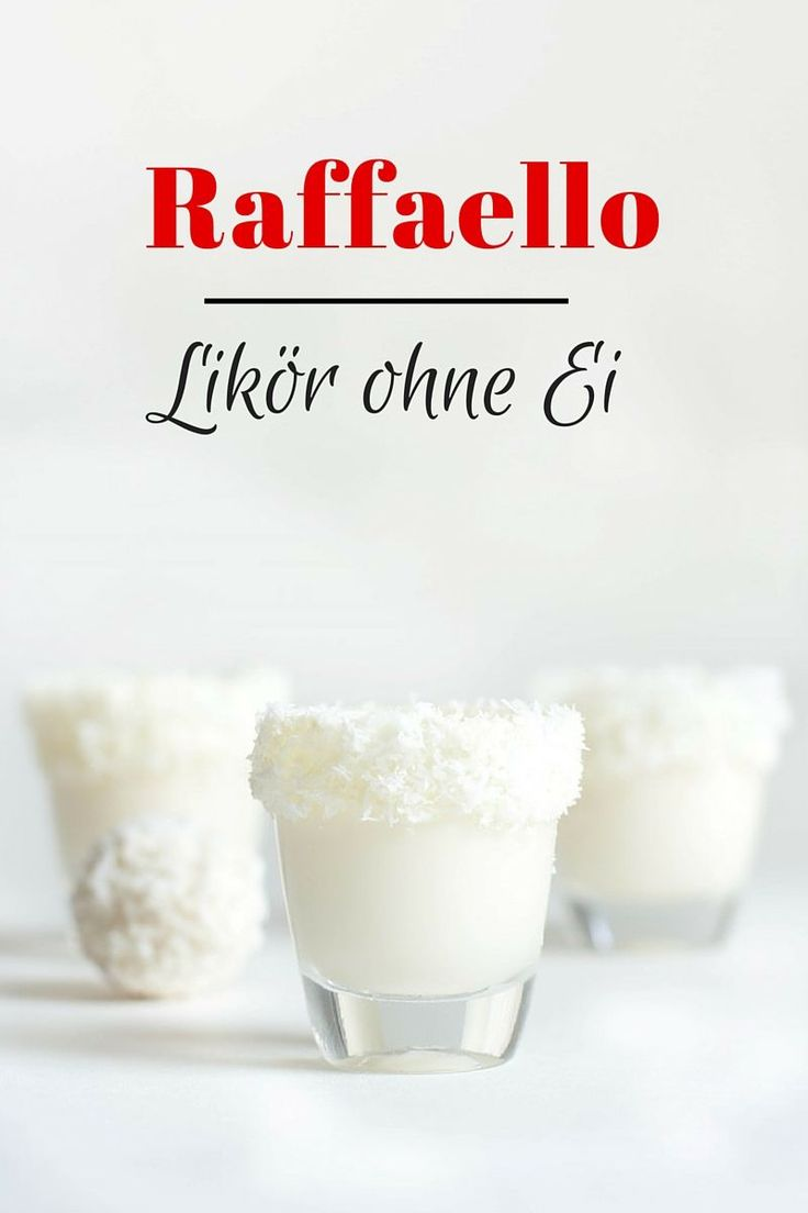 Raffaello Likör ohne Ei - Kaschula