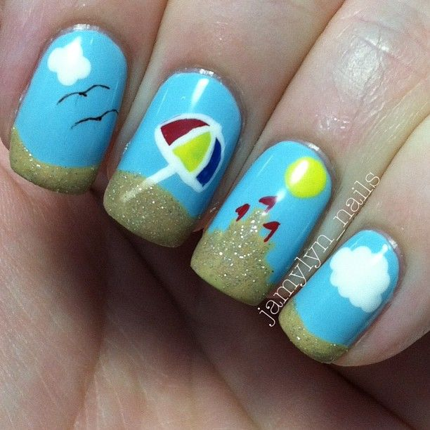 Nail Ideas Beach The Best Inspiration For Design And Color Of The