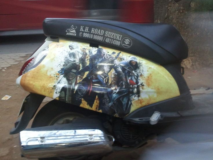 Honda active Modify graphics