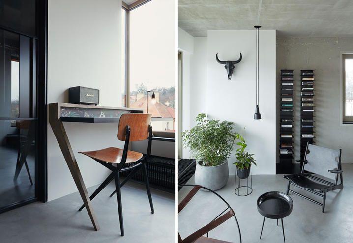restyling-loft-praga-stile-industriale-angolo-scrittura-zona-giorno