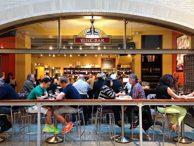 Ferry Plaza Wine Merchant: A great place to stop and try one of hundreds of local California wines
