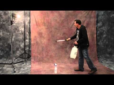 Quickly removing wrinkles from your Muslin Backdrops - Studio Photography Tutorial - YouTube
