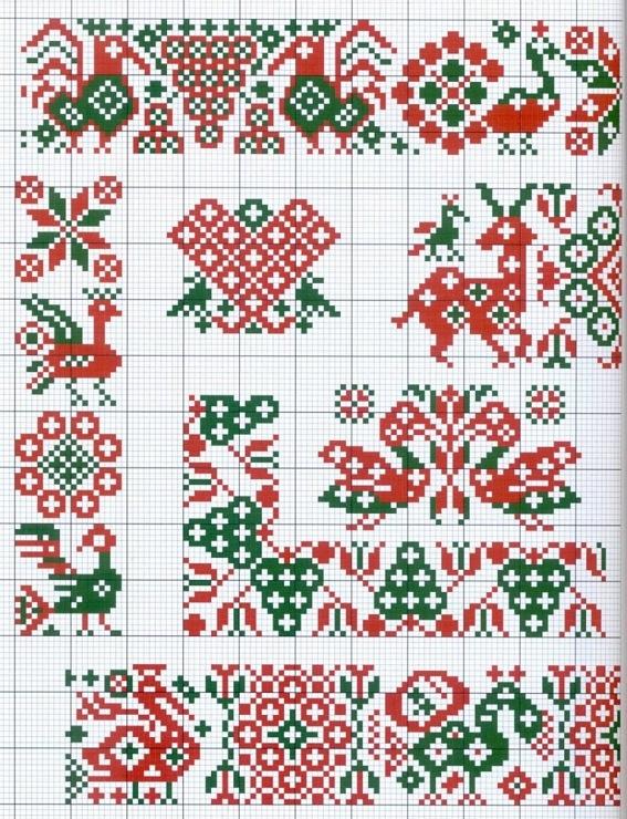 3 motif scandinaves traditionnel Motifs scandinaves traditionnels