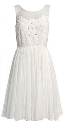 Christina reiss dress white